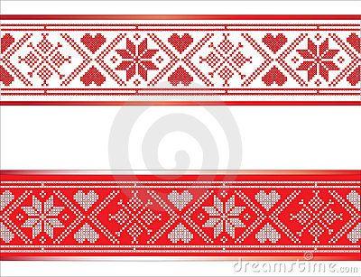 Scandinavian Ribbon Scandinavian Embroidery Scandinavian Cross Stitch Scandinavian Pattern