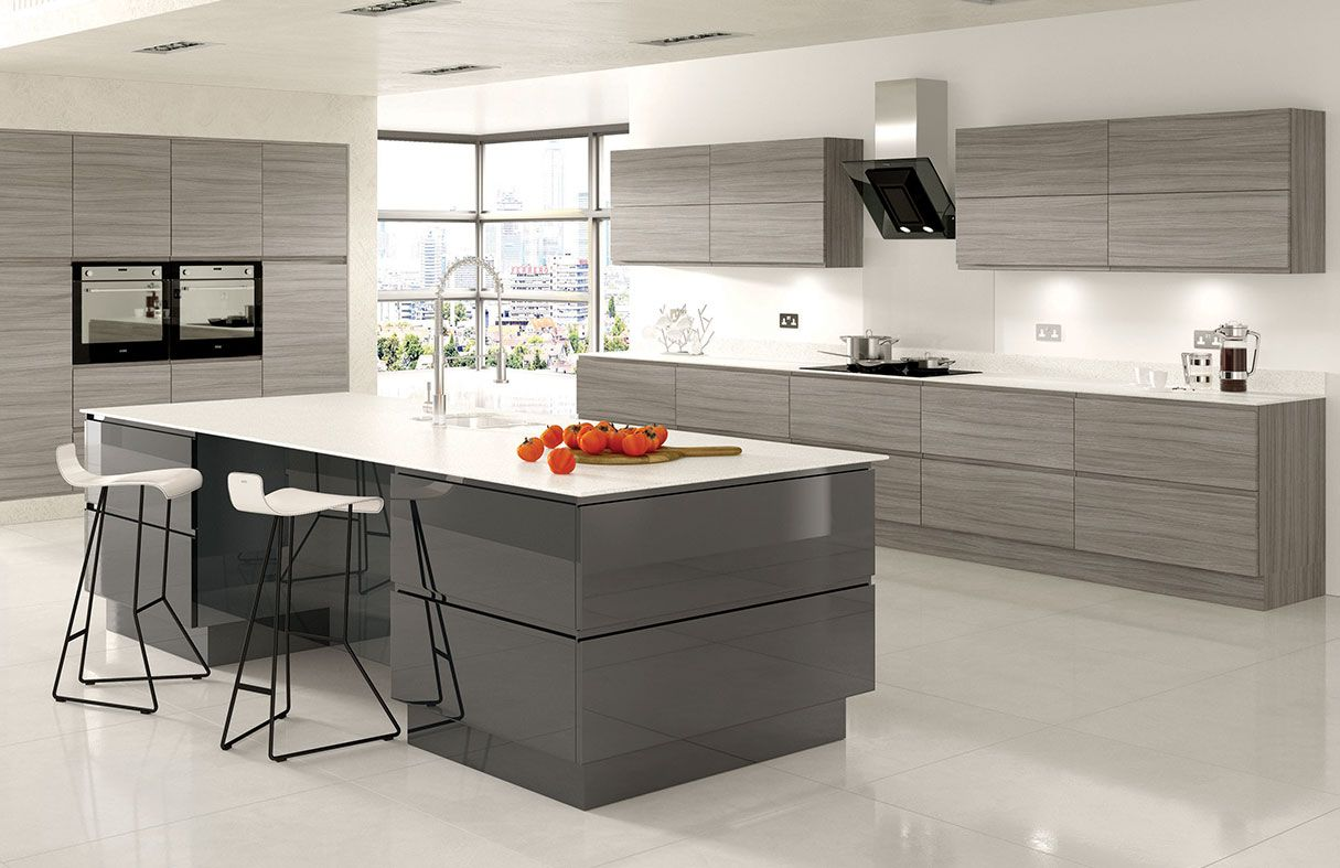 Designer German Style Modern Kitchens Handleless Kitchen Modern Kitchen Design Modern Kitchen