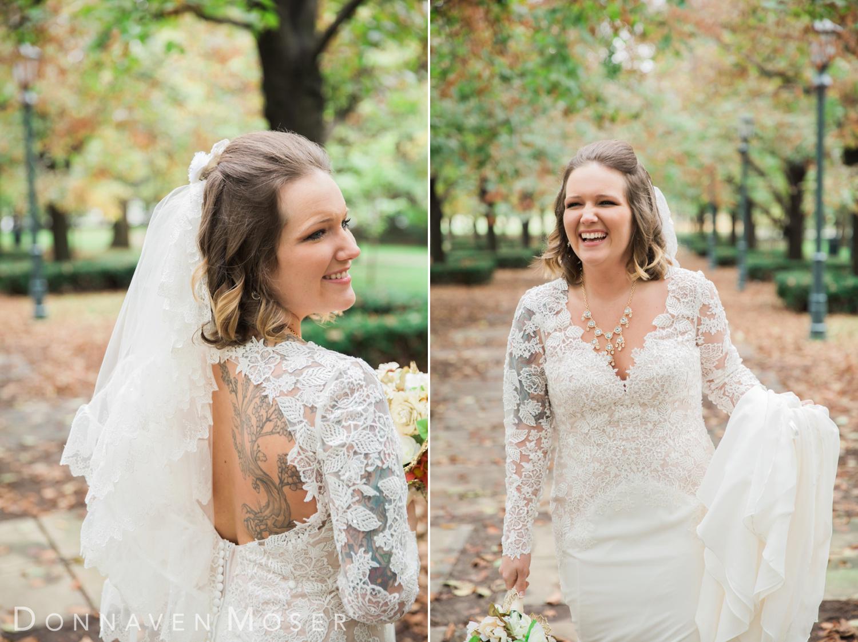 Justin Sarah Kansas City Mo Wedding Photography Donnaven Moser Wedding Dresses Lace Tattoo Wedding Dress City Bride