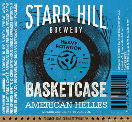 mybeerbuzz.com - Bringing Good Beers & Good People Together...: Starr Hill - Basketcase American Helles