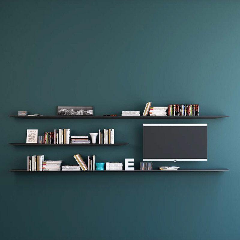 Etagère Plana Aico. Le minimalisme tout en style. Étagère murale pour livres et décoration. Système de fixation intégré. Possibilité de combiner plusieurs étagères afin de créer votre ambiance. Plateau verre. http://www.123meuble.com/etagere-plana-aico-aico,fr,4,etagere-plana-aico.cfm