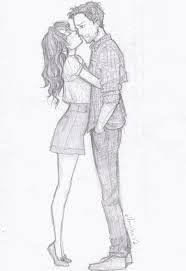 Resultado de imagem para desenhos tumblr casal apaixonado