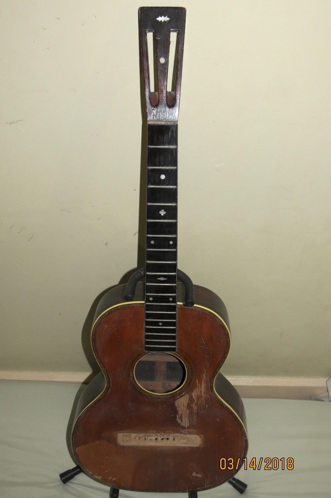 Details about WM C Stahl Maker Larson Bros. acoustic