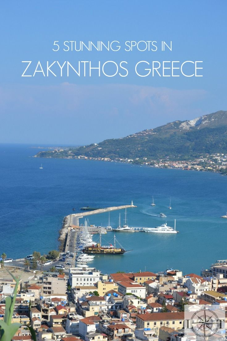 5 Stunning Spots in Zakynthos Greece
