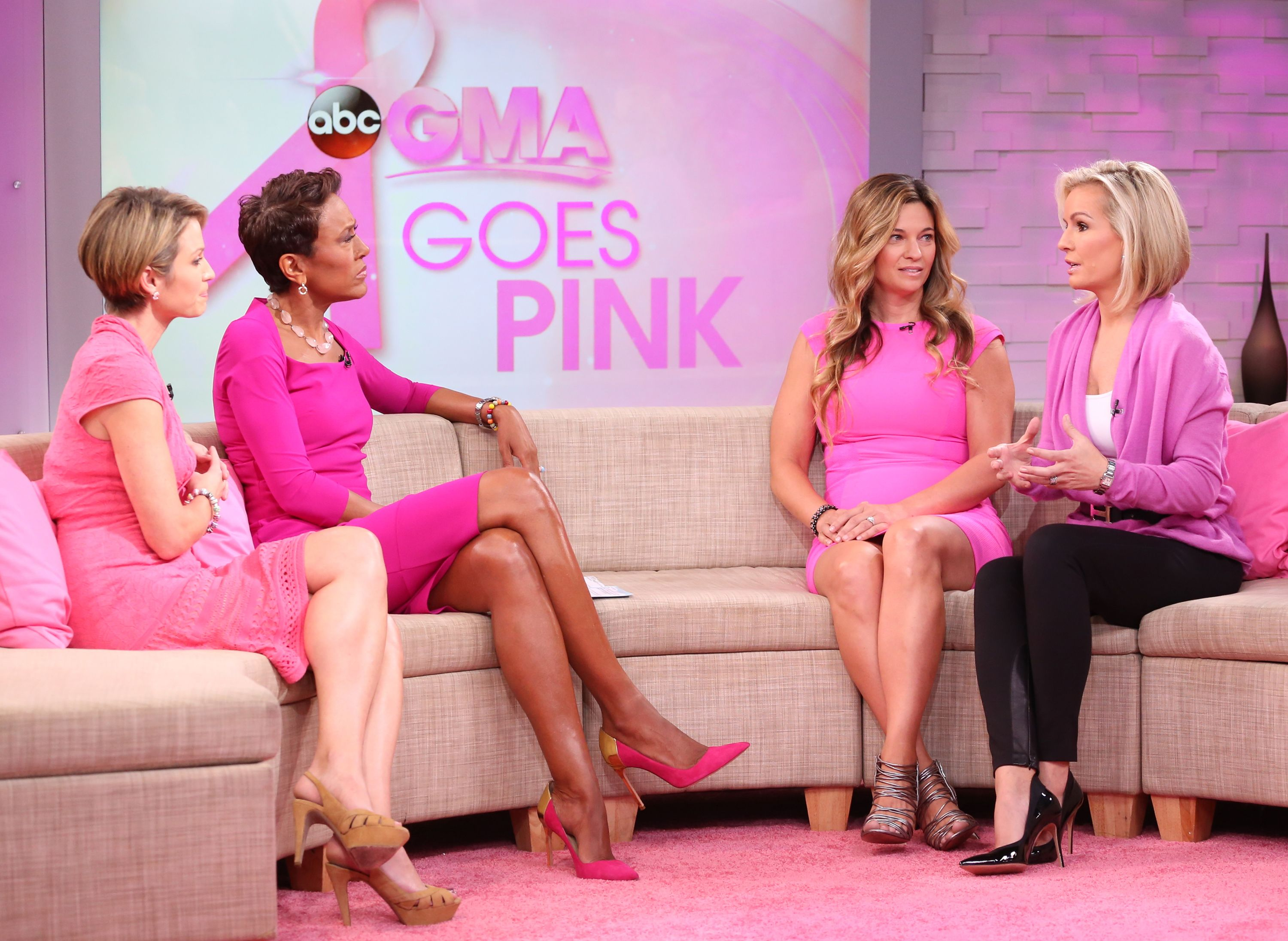 Pin on GMA Goes Pink