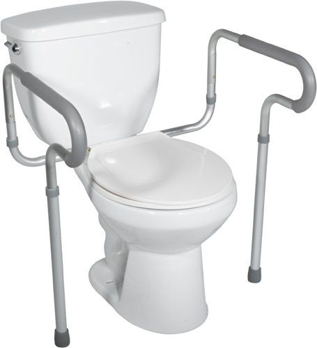 Secure Toilet Safety Support Rail With Padded Arms Click Image To Review More Details Bathroom Safety Toilet Bathroom Safety Accessories