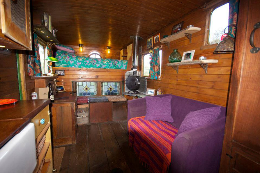 This Tiny Cabin In The Redwoods Is The Perfect Getaway For: This Converted Horse Trailer Is The Perfect Welsh Getaway