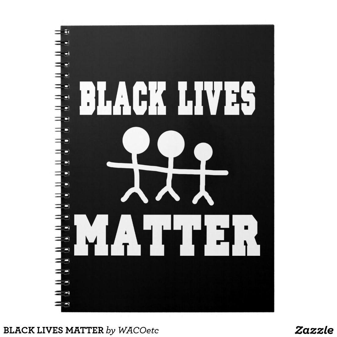 BLACK LIVES MATTER NOTE BOOK