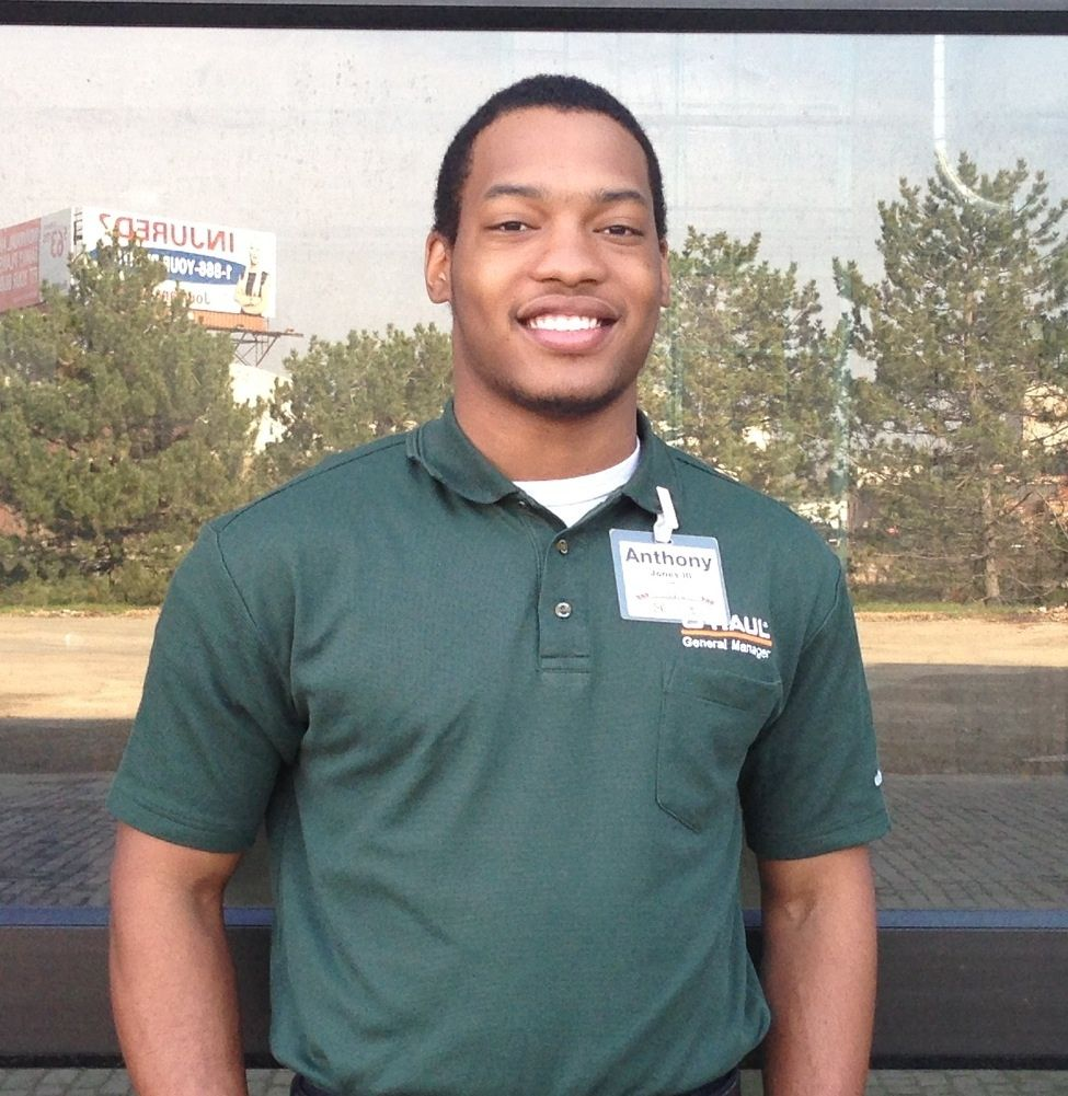 anthony jones is ready to lead at the new u haul moving and