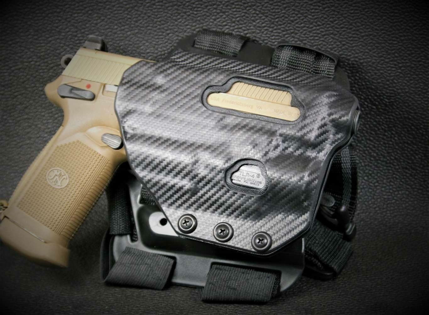 Ethos Survival - New drop leg holster for a FNX 45 Tactical