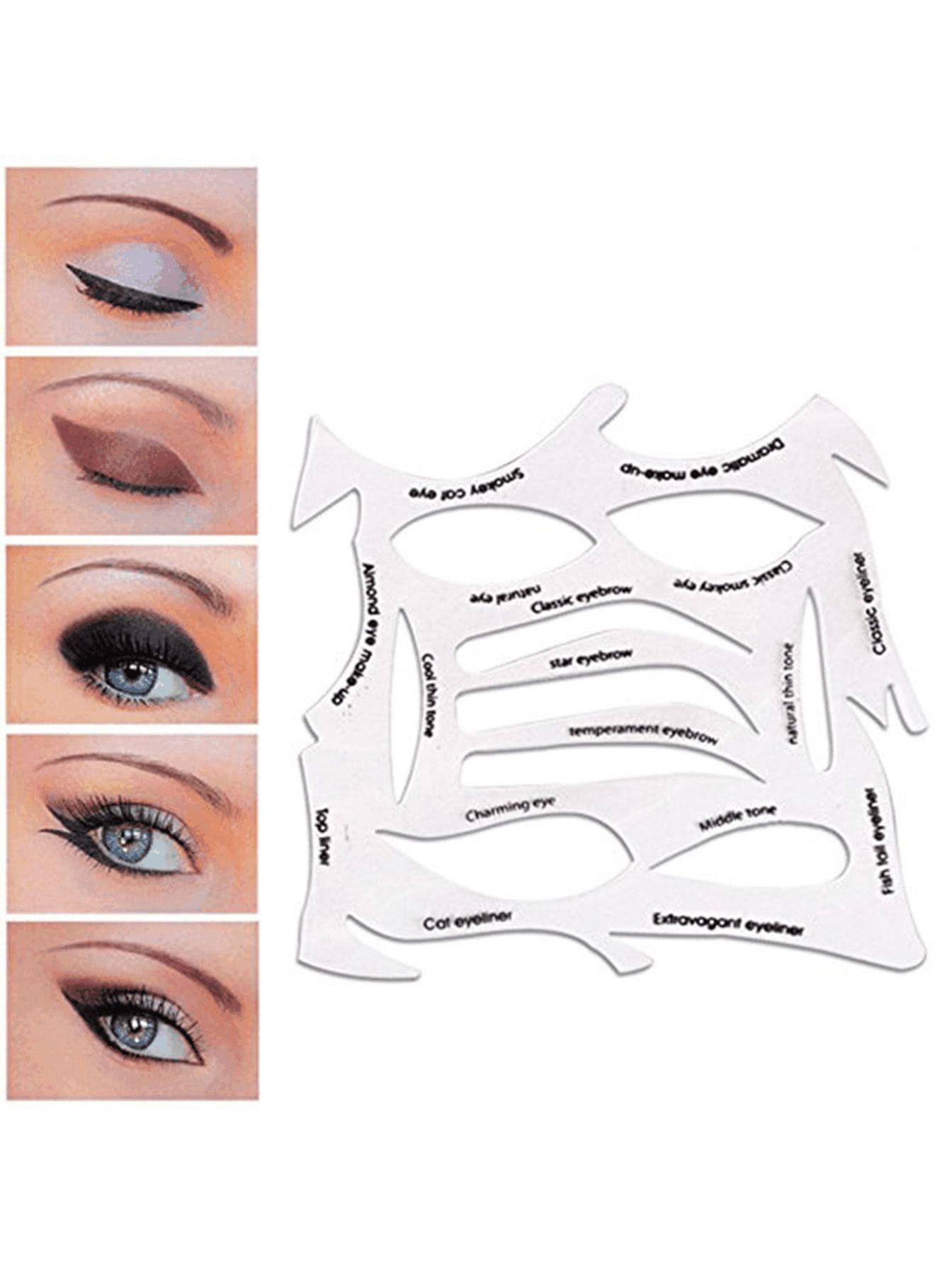 Quick Make Up Eyeliner Stencilfor Women Romwe Maquillaje De Ojos