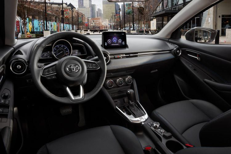 2019 Toyota Yaris Review Small Steady Wins The Race Yaris Toyota Sedan