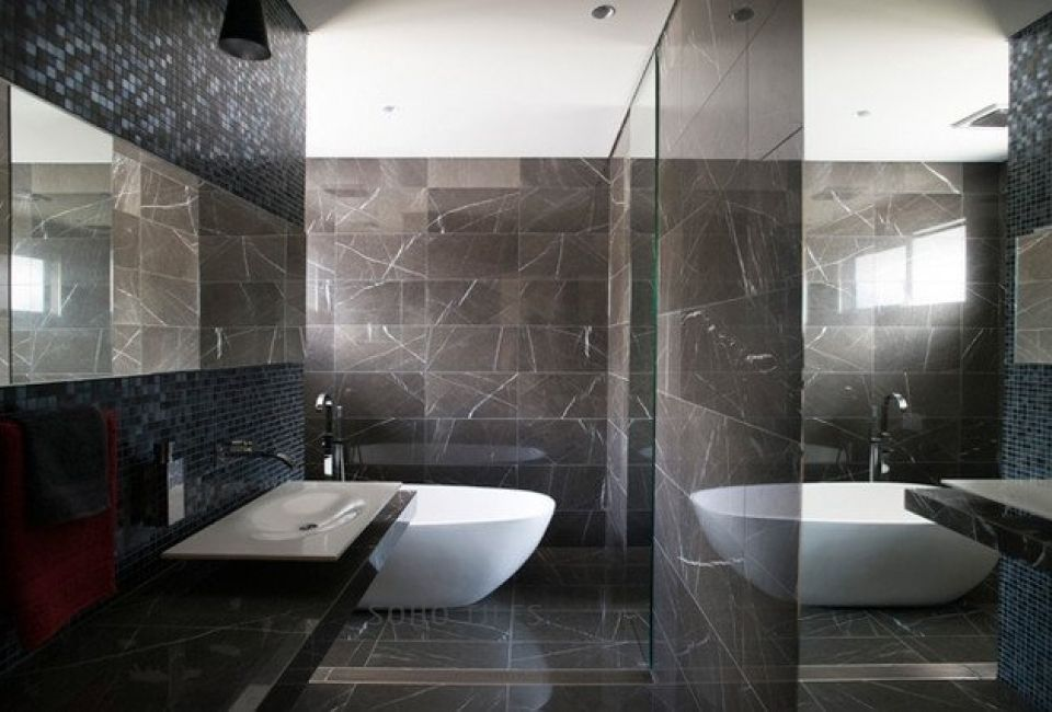 Grey Marle In 2020 Grey Marble Bathroom Dark Bathrooms Bathroom Interior
