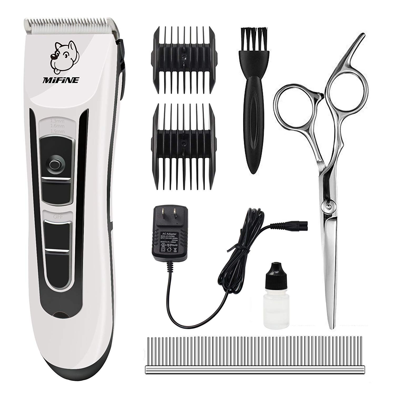 Professional Dog Grooming Clippers Rechargeable Dog Grooming Kit