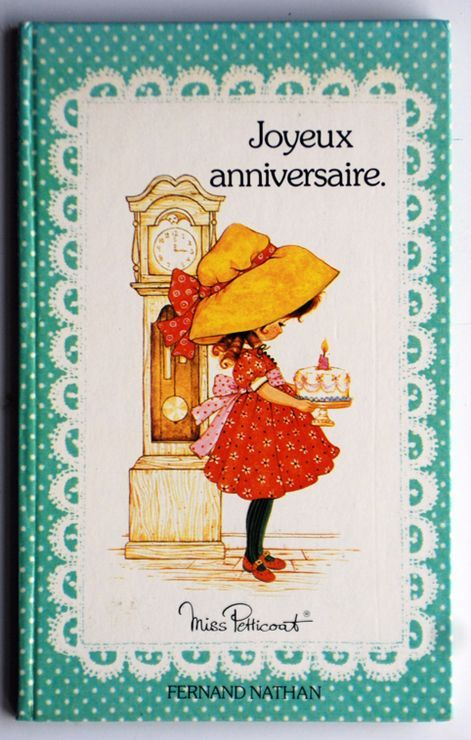 Miss Petticoat Joyeux Anniversaire Illustration Birthday Happy