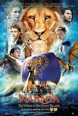 Las Cronicas De Narnia La Travesia Del Viajero Del Alba Narnia Movies Chronicles Of Narnia Fantasy Movies