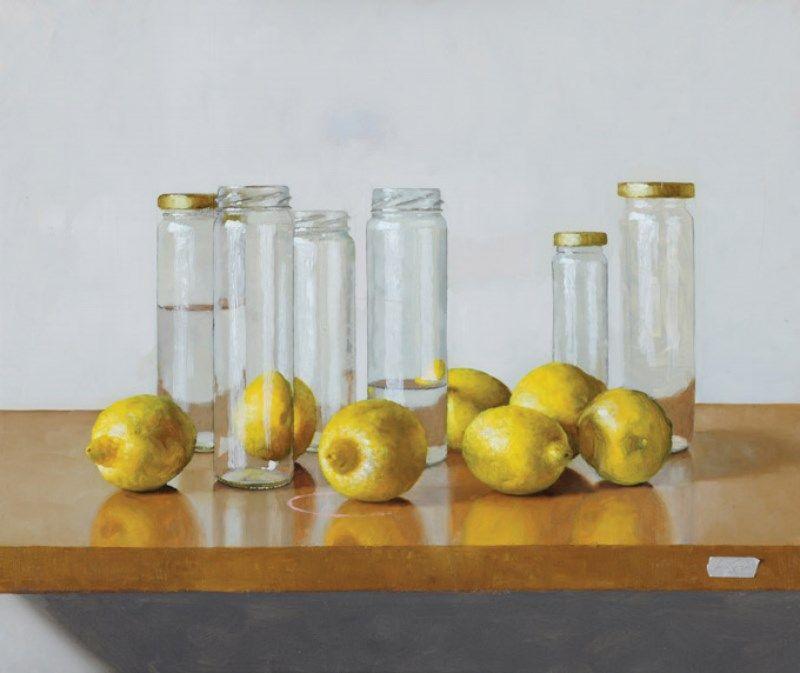 Fabian la Rosa - Lemons and glass