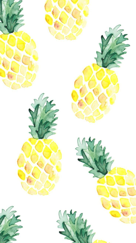 épinglé Par Cal Sur Fond Décran Fond Ecran Ananas