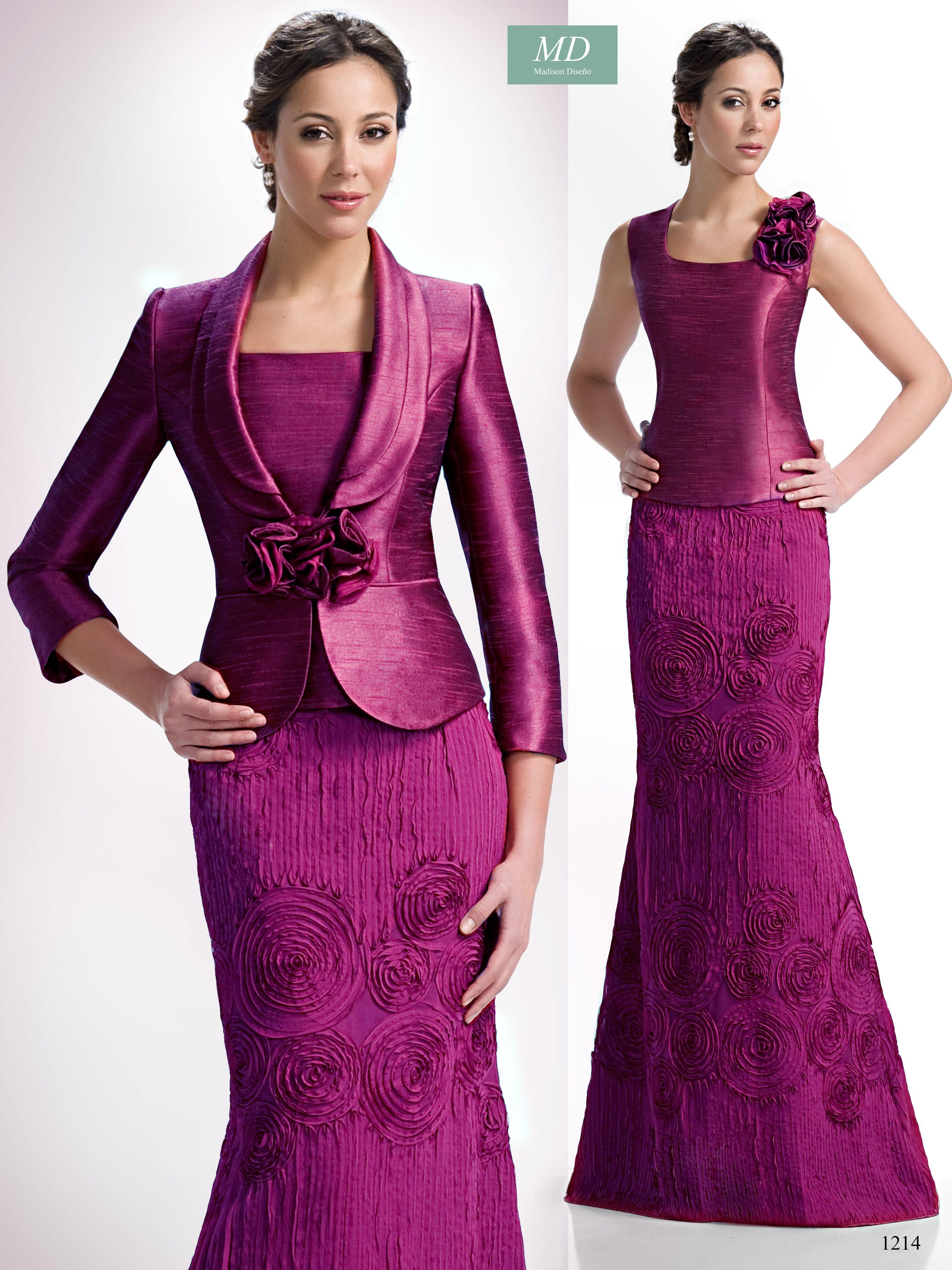 Trajes de madrina, vestidos de fiesta Madison Diseño http://www ...