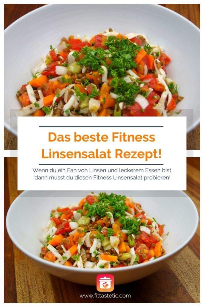 Diät Linsensalat