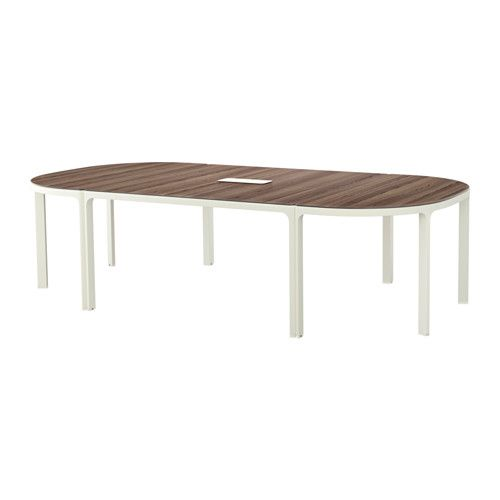 BEKANT Conference Table, Black Brown, Black | Conference Room, Cable  Management And Office Designs