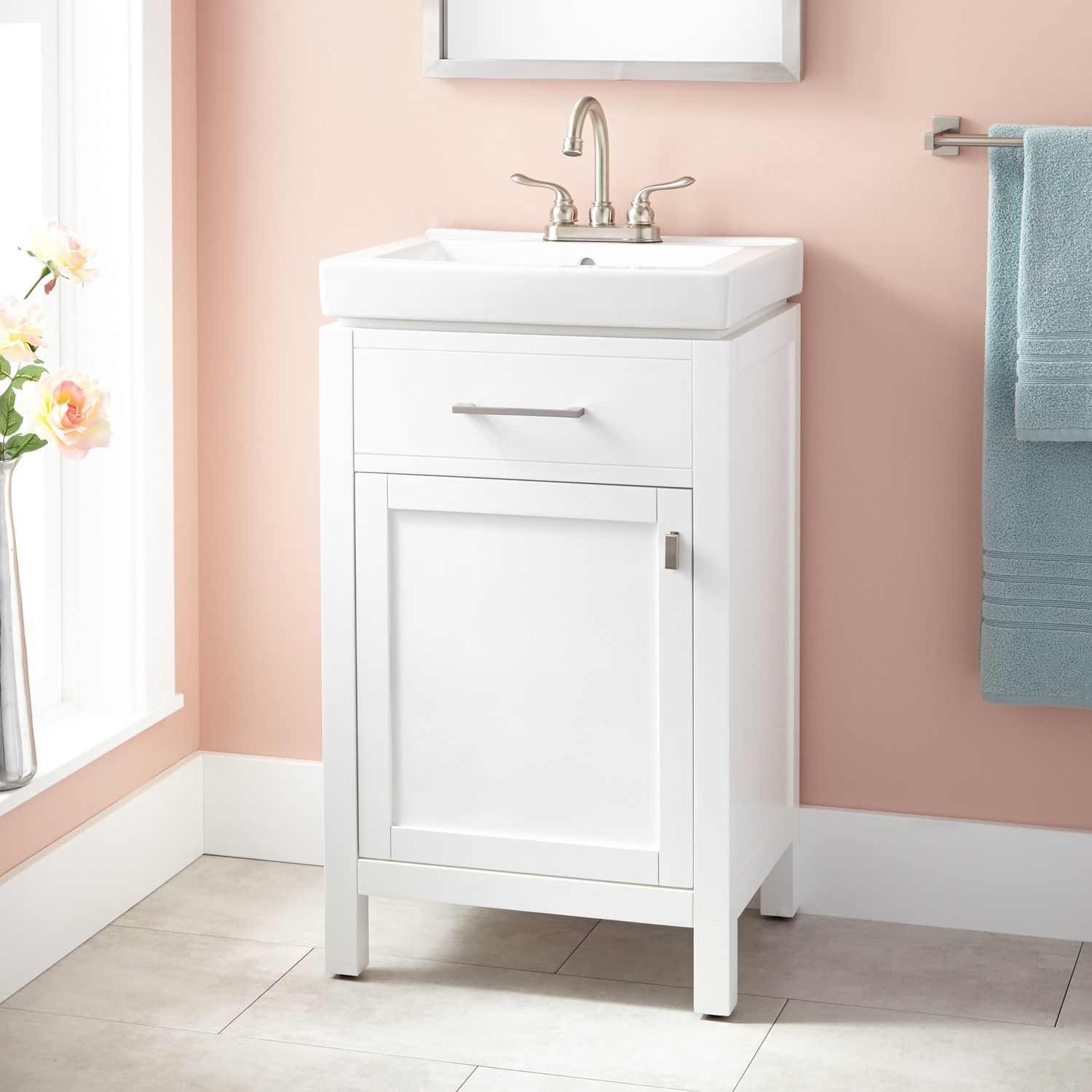 20 Foster Vanity White Bathroom Vanities Bathroom White