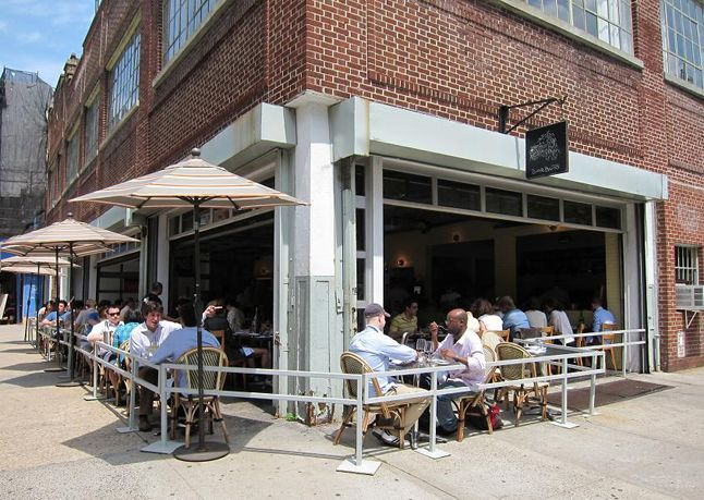 16 Great Restaurants In Old Or Still Functioning Gas Stations Bon E Barbuto West Village Nyc