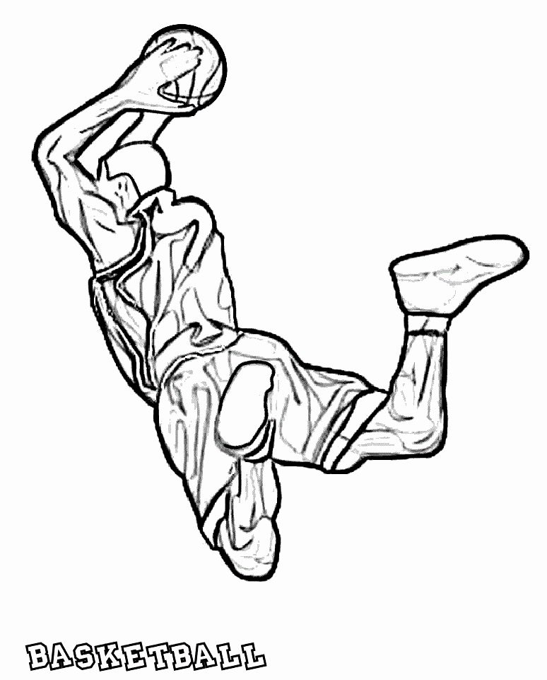 24 Printable Basketball Coloring Pages In 2020 Coloring Pages