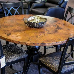 Copper Dining Room Table Tops