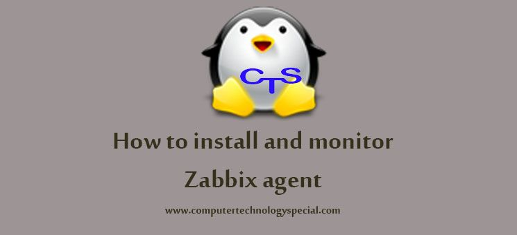 How to install and monitor Zabbix agent