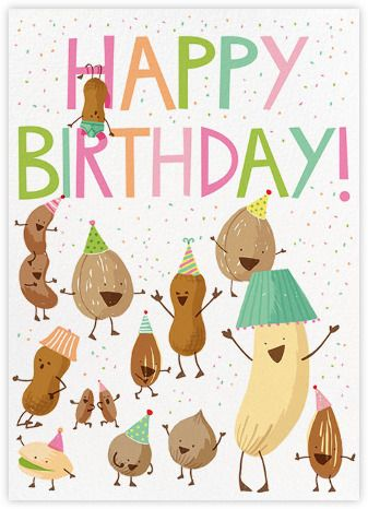 Hello Lucky Nutty Birthday Birthday Cards Birthday Card Online Virtual Birthday Cards