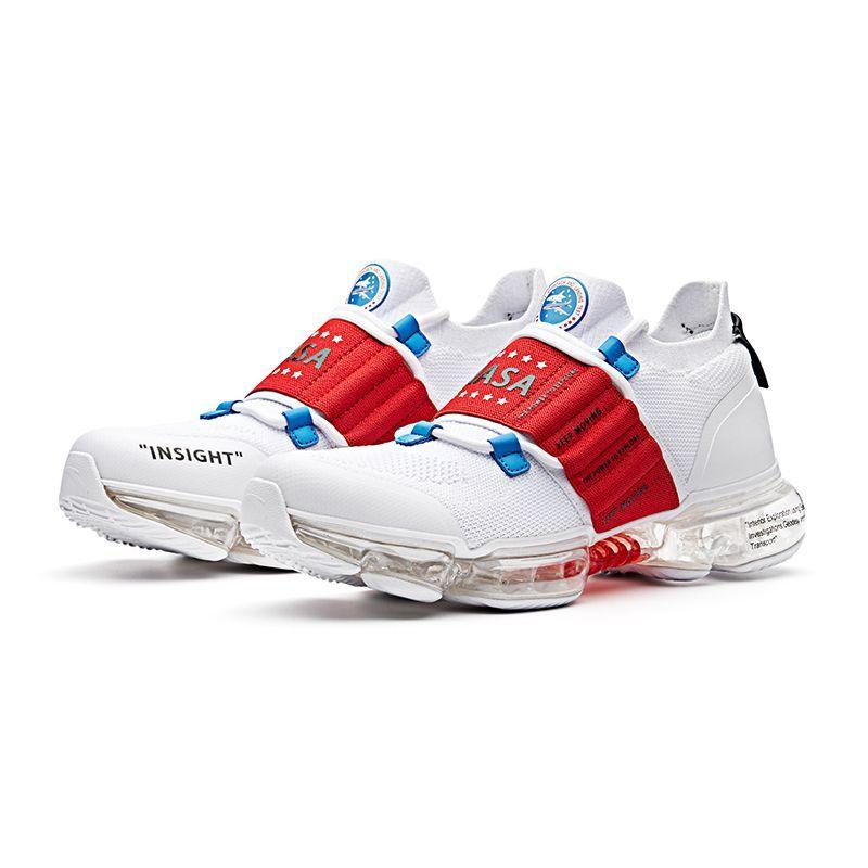 "Anta x Seed ""Zero Bound"" NASA 60th Anniversary Cushioning Running Shoes -  White a7fdf7f58"
