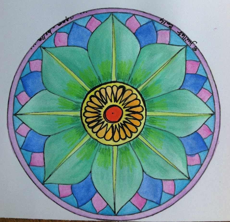 Comment colorier un mandala | Colorier, Les mêmes et Je vous
