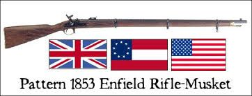 Image result for A modern reproduction of the Enfield 1853