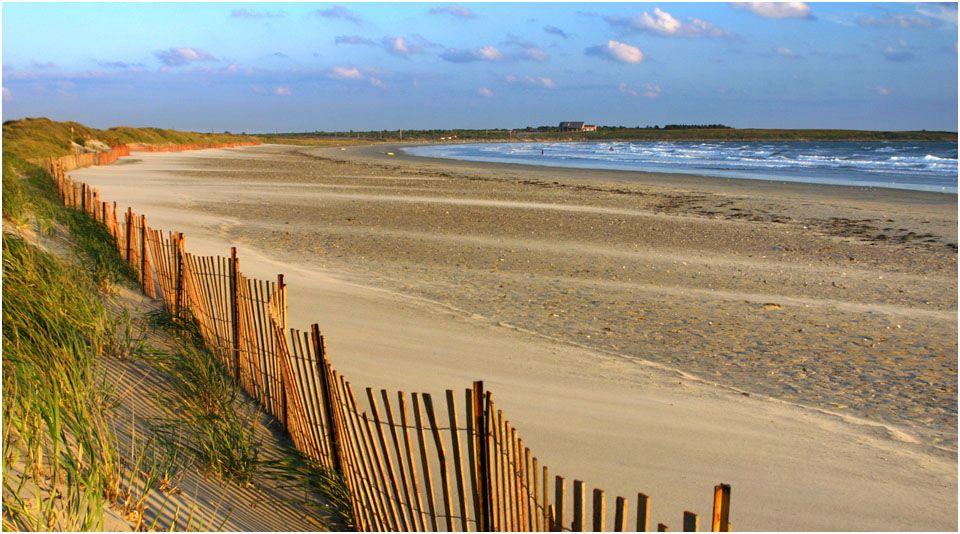 Second Beach In Winter Newport Ri