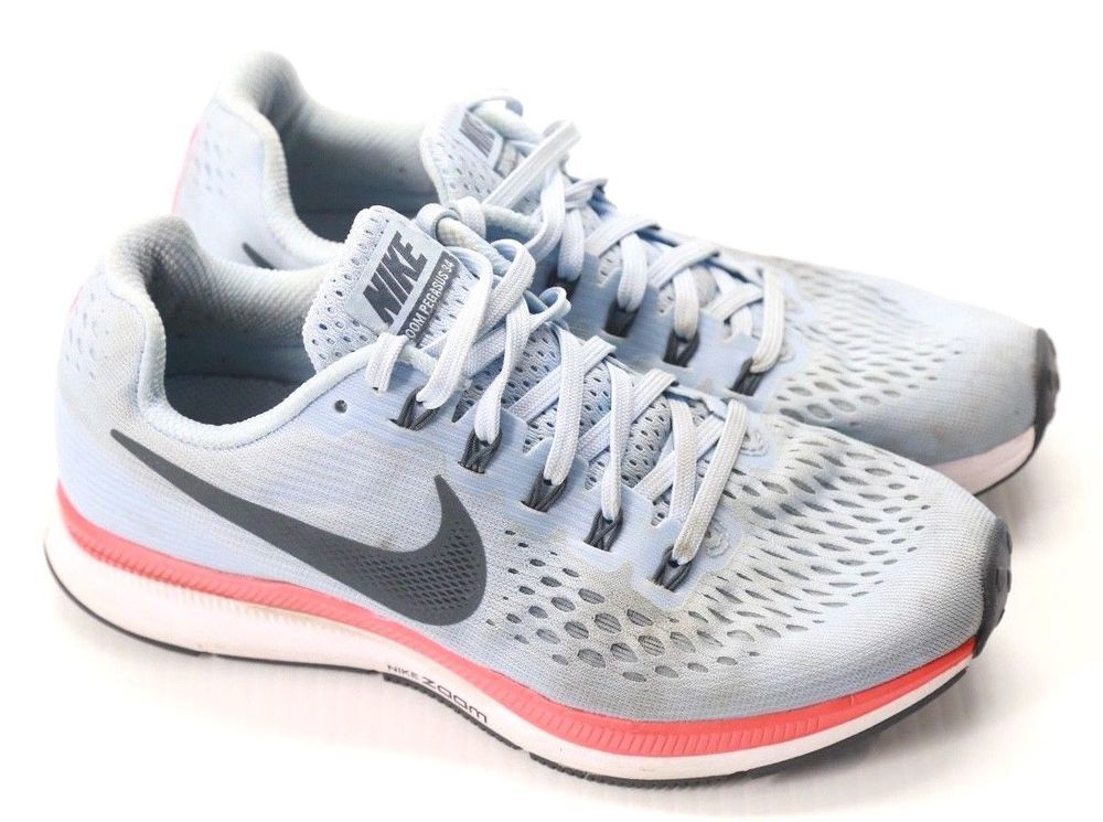 841314059 Nike Women's Zoom Pegasus 34 Sneakers Athletic Running Shoes Size 6.5 #Nike  #RunningShoes