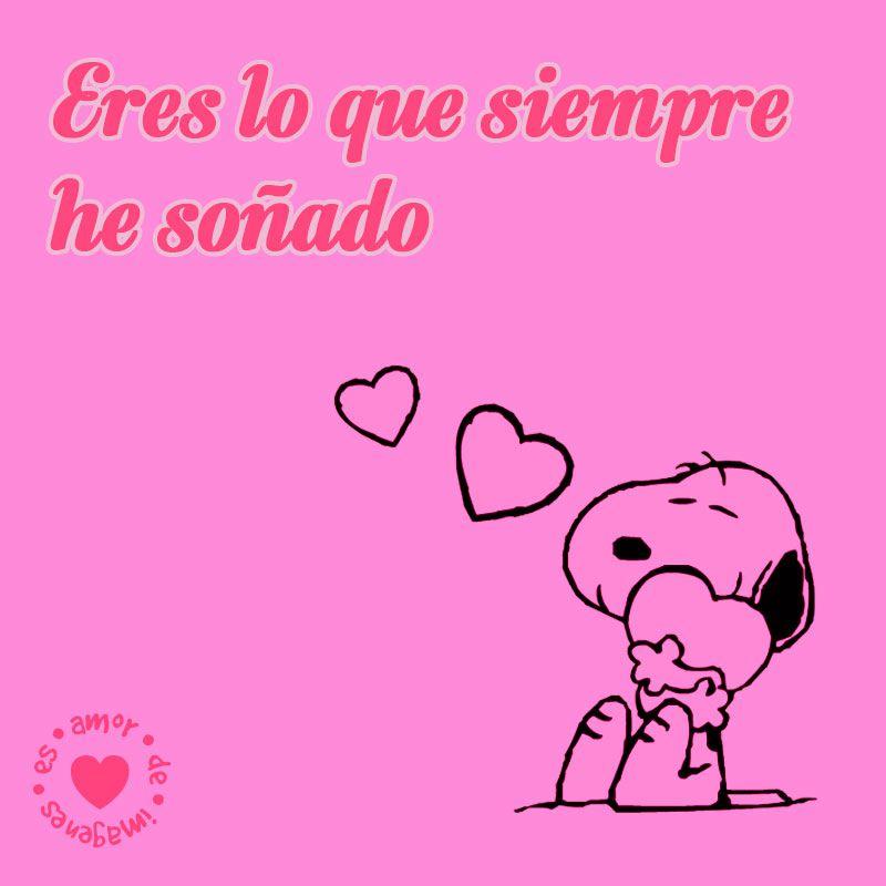 Bonita Dibujo De Snoopy De Amor Amor Dibujos De Amor Imagenes De Amor Fotos