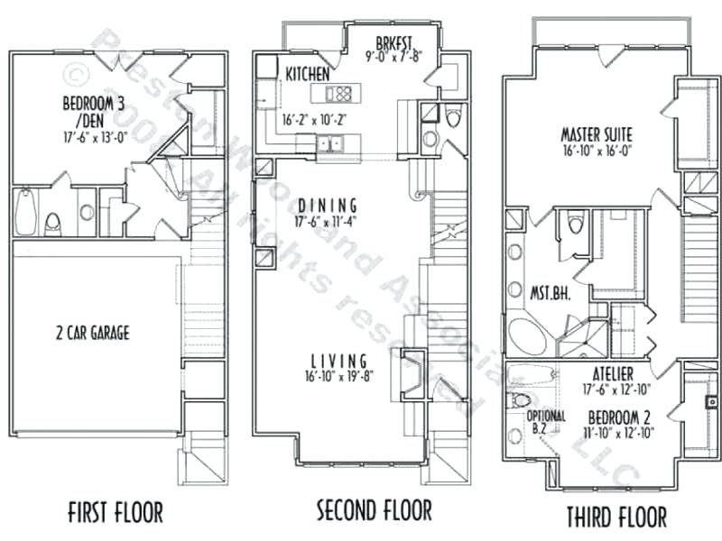 Plans 3 Storey House Plans For Small Lots Best Home Ideas In Decor Narrow House Plans Two Story House Plans House Plans