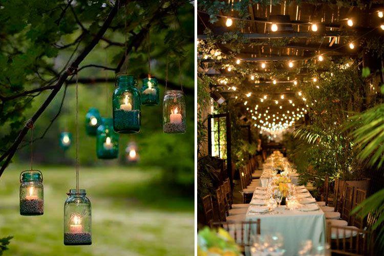 decofilia te muestra todo tipo de ideas de iluminación para bodas de
