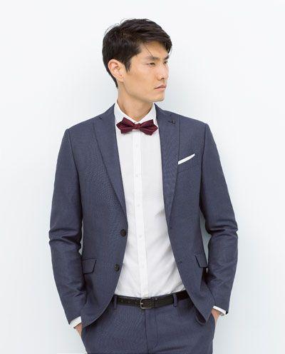 new style d9045 e541e ZARA - UOMO - ABITO COMPLETO BLU | My style | Abiti, Zara e Blu
