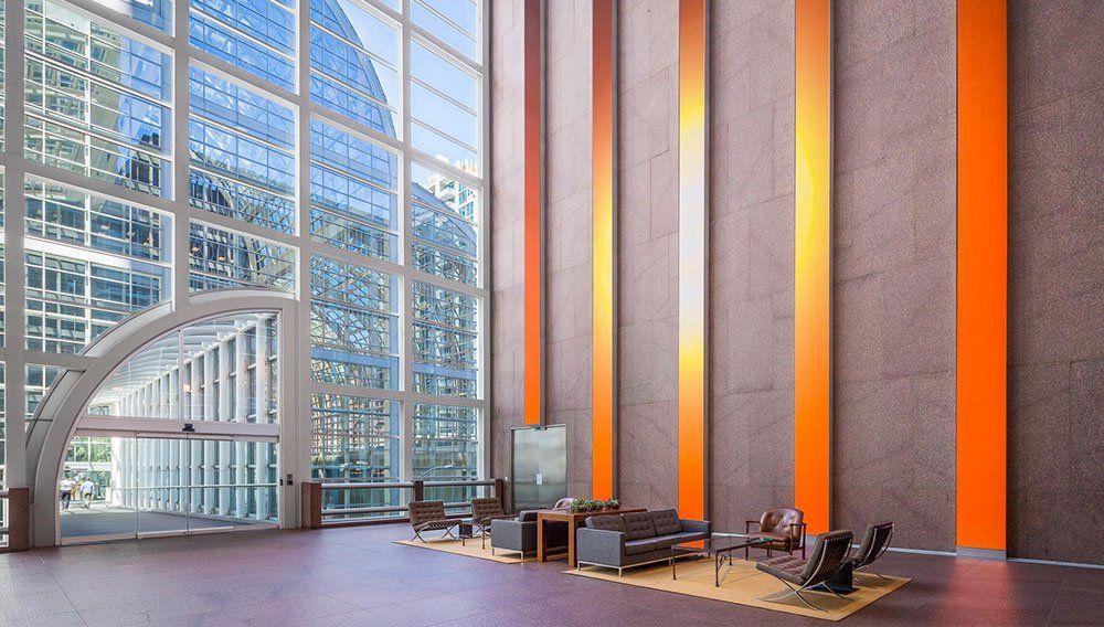 Emblemático edifício de Denver nos EUA ganha 'parede animada'