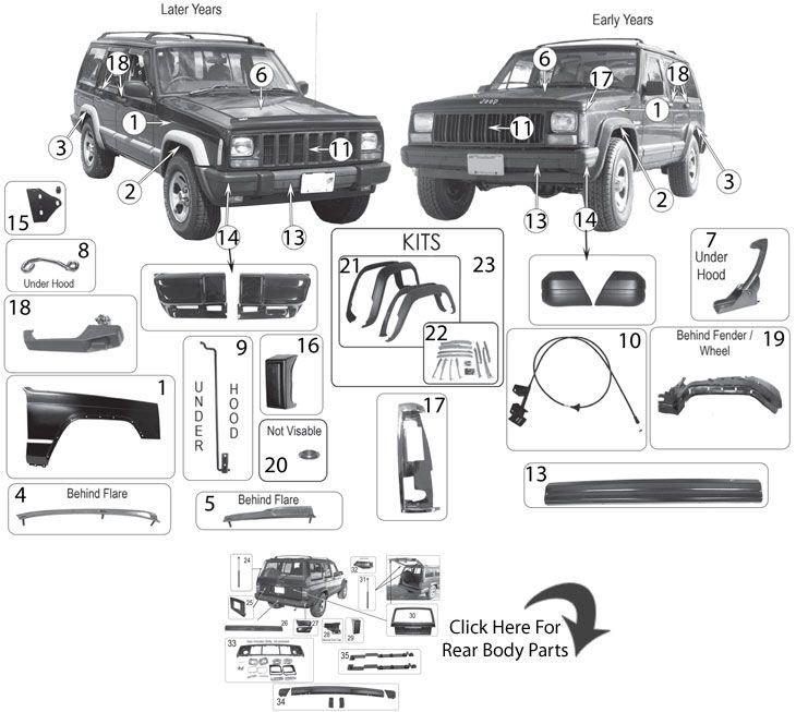 Jeep Xj Parts Mecanica Automotriz Vehiculos Mecanica