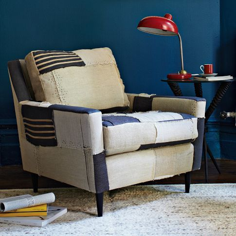 Patchwork Everett Chair West Elm Pieced Patched