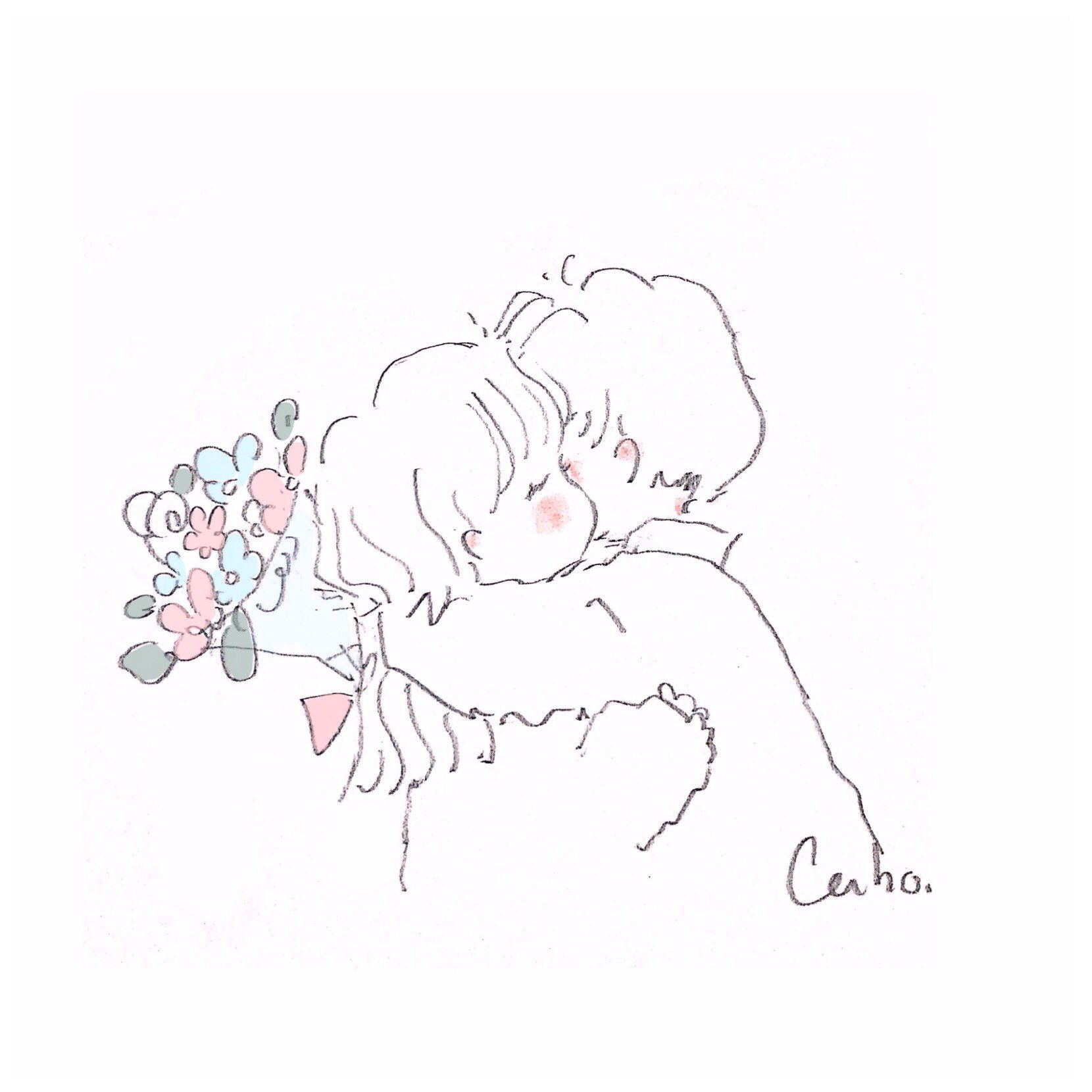 Anime おしゃれまとめの人気アイデア Pinterest Issathe Cherries Caho イラスト キュートなスケッチ デッサン カップル