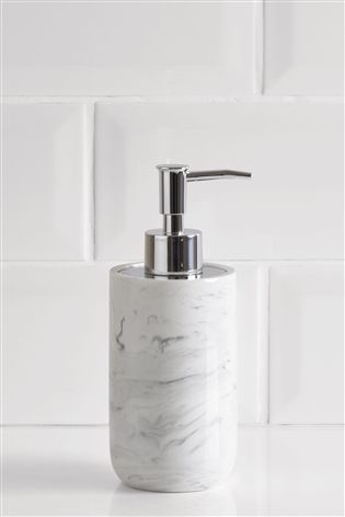 Buy Marble Effect Soap Dispenser from the Next UK online shop