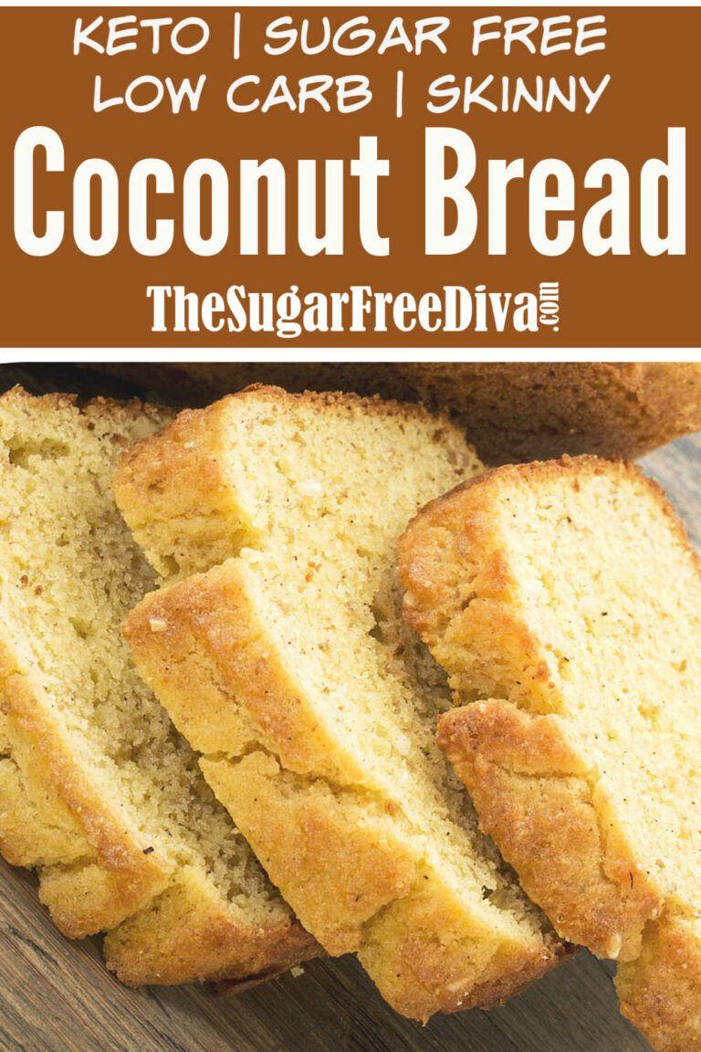 Keto Coconut Flour Bread Keto Lowcarb Bread Coconut Glutenfree In 2020 Coconut Flour Bread Recipes Coconut Flour Bread Coconut Flour Recipes