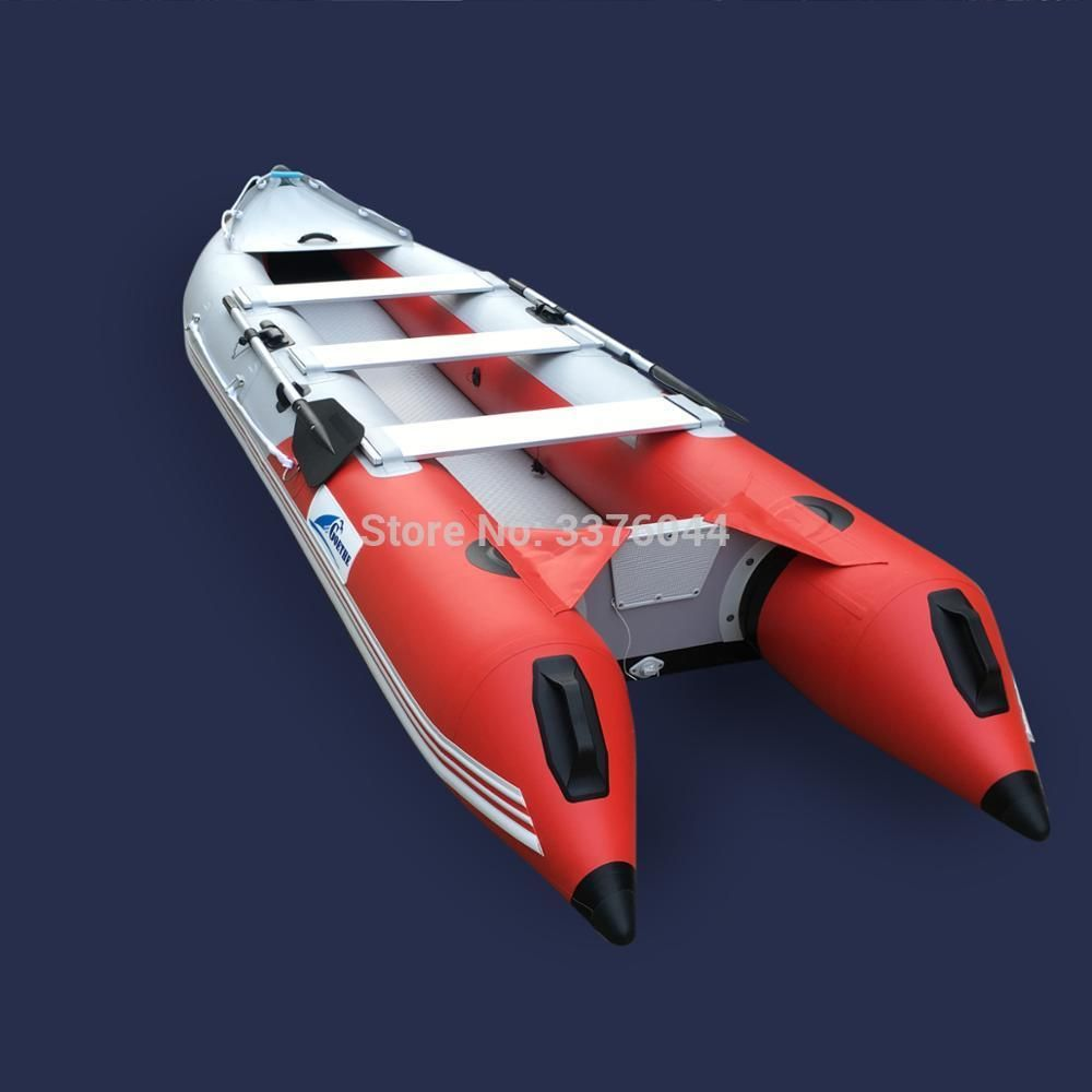 GTK420 3 people CE Certificate Inflatable kayak fishing boat