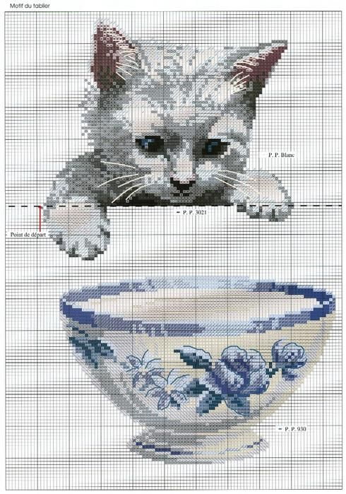 PUNTO CROCE | Counted cross stitches | Pinterest | Punto de cruz ...