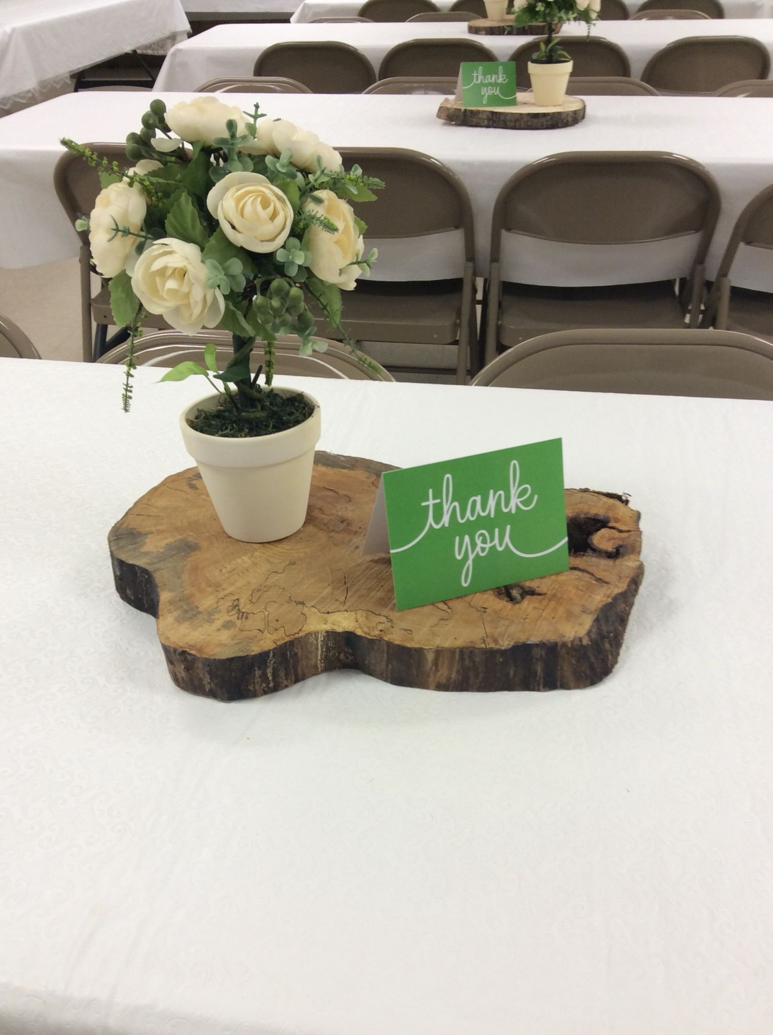 Ideas for pastor anniversary table - Pastor Appreciation Centerpiece Wood