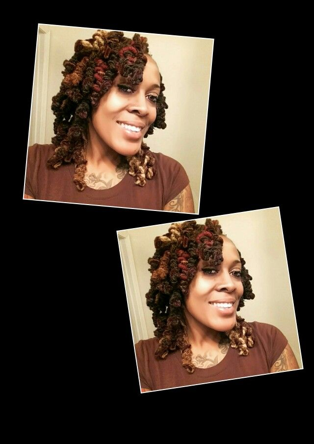Two strand twist and rolled